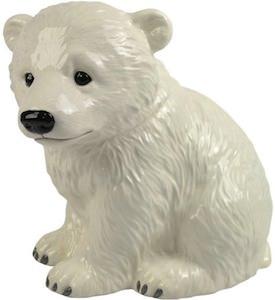 Polar Bear cub cookie jar