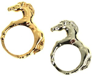 Horse Shaped Rings