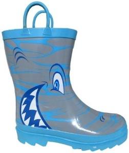 Shark Rain Boots for kids