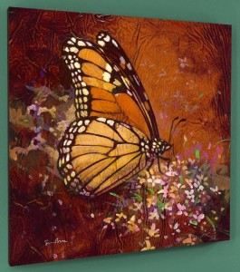 Butterfly Bless The Day Signed Print