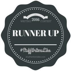 2016 Stuff Writers Like Writing Contest Runner Up A.R. Braun