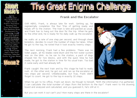 The Great Enigma Challenge Site
