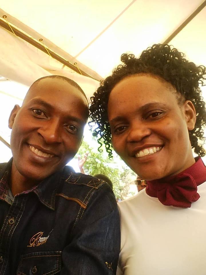 Pastor Asiimwe Tobius und seine Frau