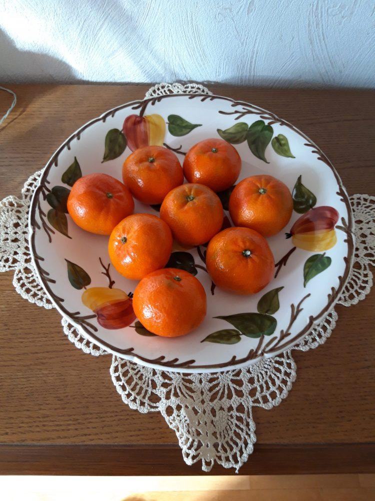 Mandarinenschale