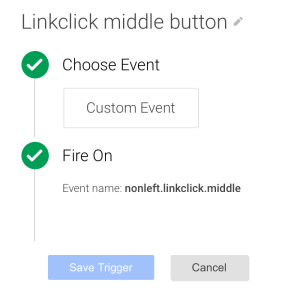 middle button
