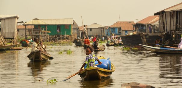 Ganvie Stilt Village, Lake Nokoue, Benin