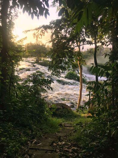 Kongou Falls, Ivindo NP