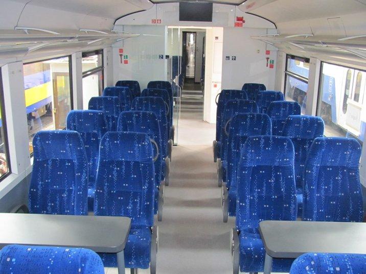 Trans Gabon Express - 2nd Class Seats