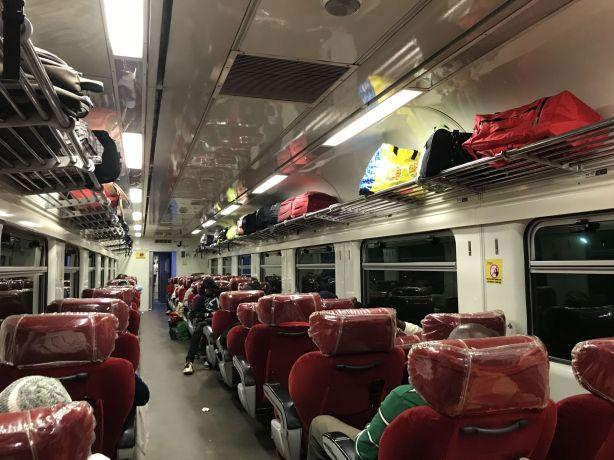 Trans Gabon Railway - Omnibus 1st Class