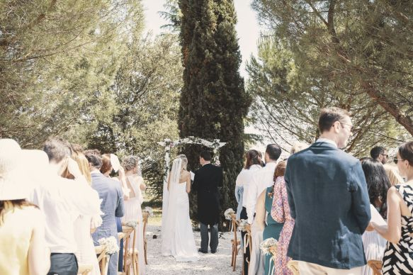 La Vue France - Wedding Day - Ceremony Aisle - StuJarvis.com