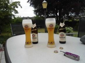 Pff, een welverdiend Duits bier!