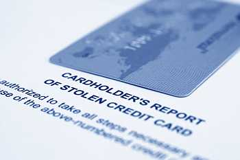 how to report a stolen credit card