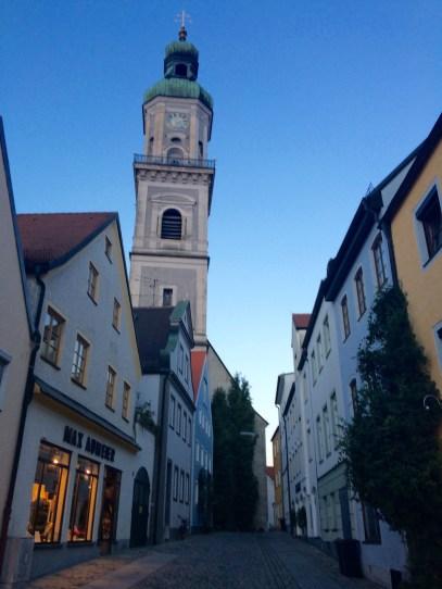 Downtown Freising