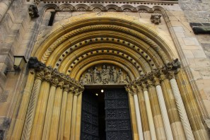 Front Entrance of Bamberg Cathedral
