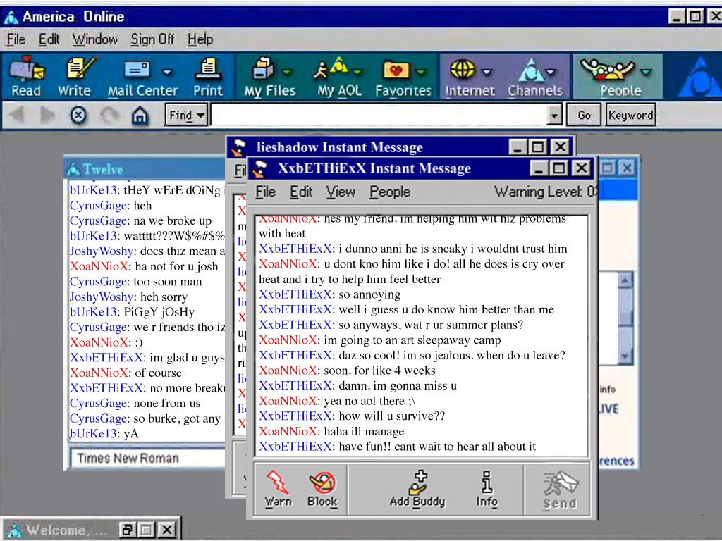 Read a chat cyber sex