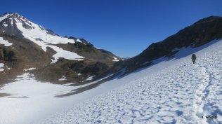 We just kept trekking - the heat was incredible