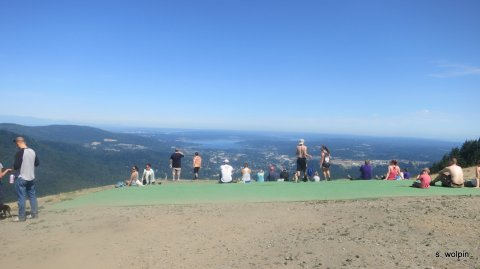 Finally finishing Tiger at Poo Poo Point (again, not named after me)