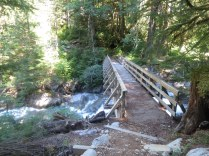 Bridge over the middle fork of the Snoqaulmie River