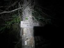 Arggg...hitting the bush whack section at night! Not my plan!