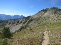 Descending Windy Pass - finally something runnable if I could only run