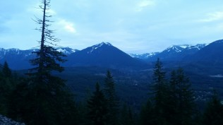 Looking back at Mailbox from the side of Mt. Si