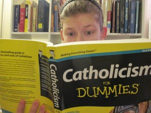 Bad Catholic reading book