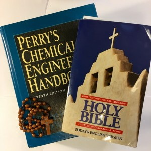 serving God as an engineer Chemical Engineer handbook Bible rosary