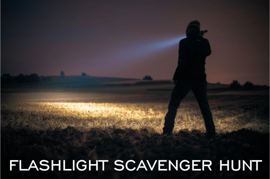 Flashlight Scavenger Hunt