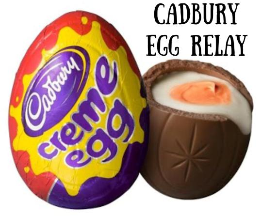 Cadbury Egg Relay