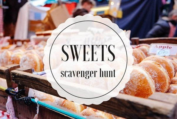 Sweets Scavenger Hunt