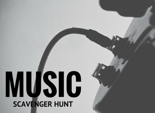 Music Scavenger Hunt
