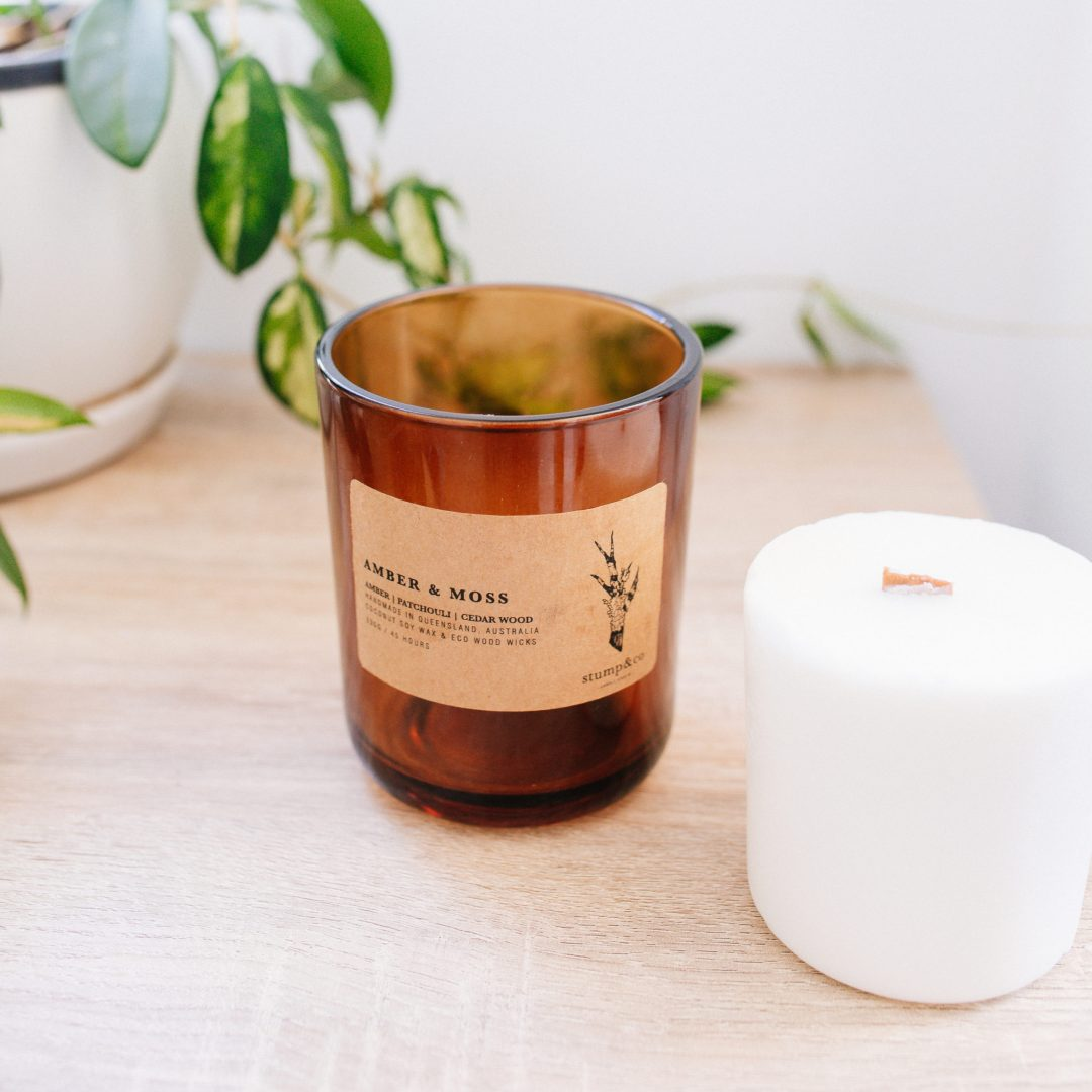 Australian Candle Holders, Landing Page, Stump and Co