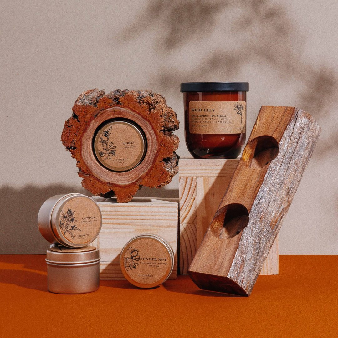 Australian Stump Candle Holders, About, Stump and Co