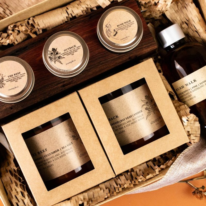 , Gift boxes, Stump and Co