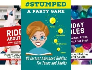 4 eBook Series for #Stumped - StumpedRiddles
