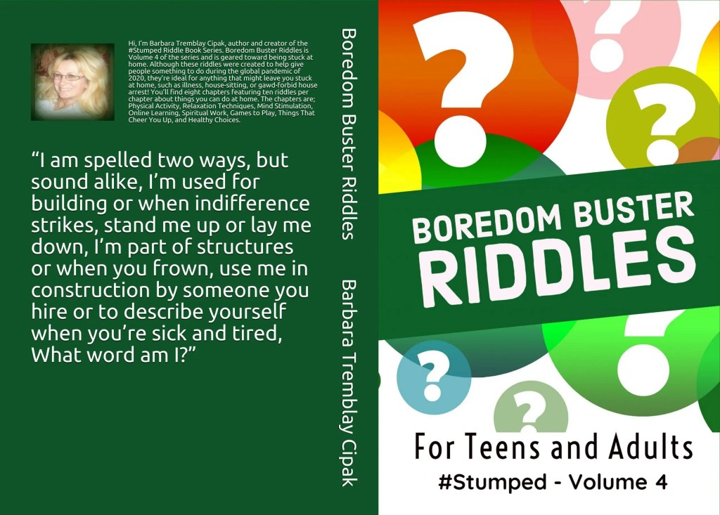 Boredom Buster Riddles - #Stumped Volume 4