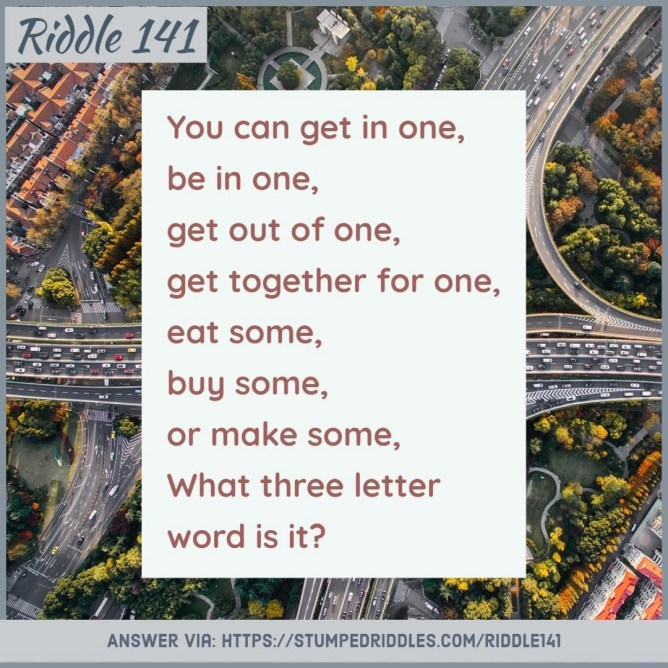 Riddle 141