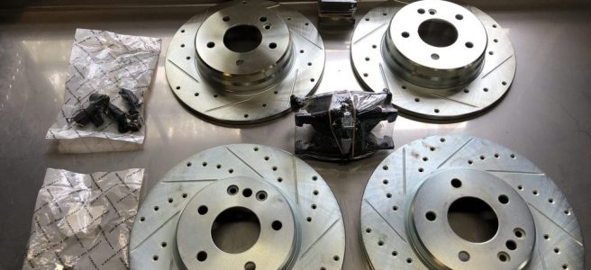New CLK430 Rotors