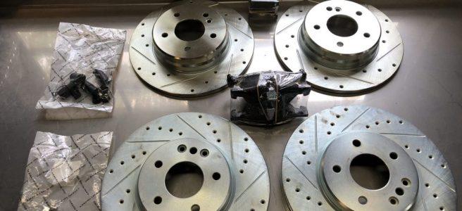 New CLK430 Rotors
