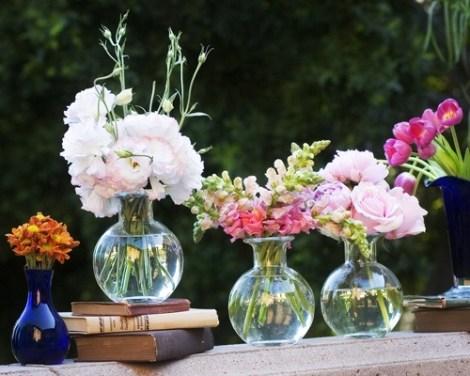 Bud Bubble stem vase