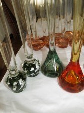 stem bud bubble vase