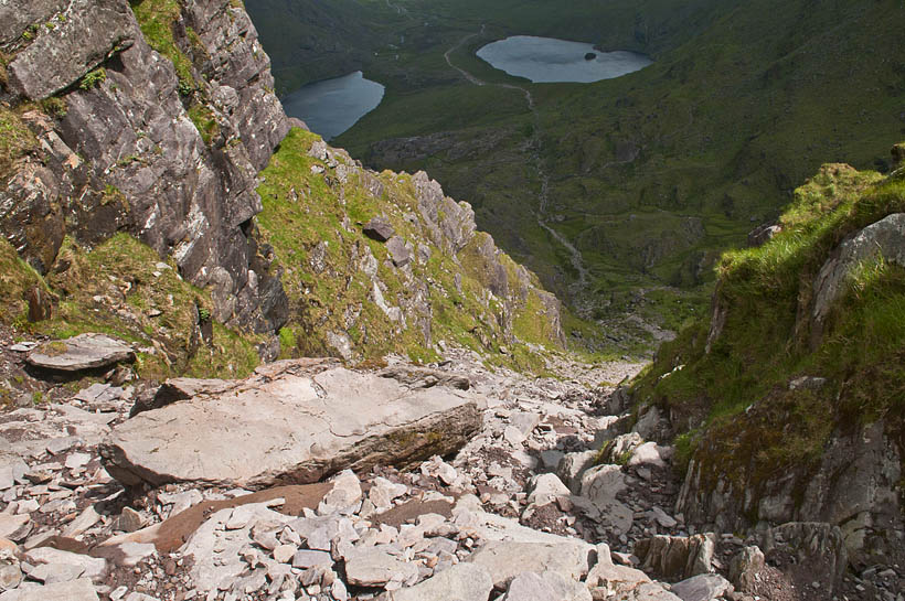 carrauntoohil hike devils ladder