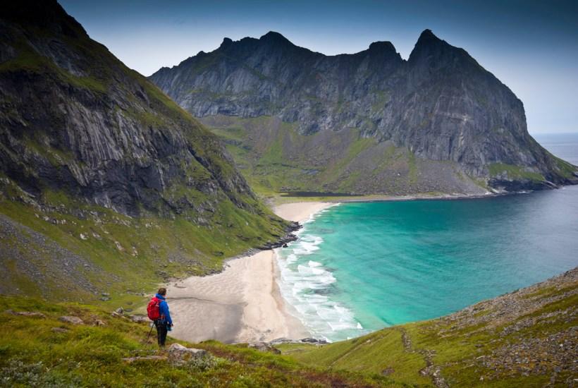 yten Kvalvika Beach Lofoten