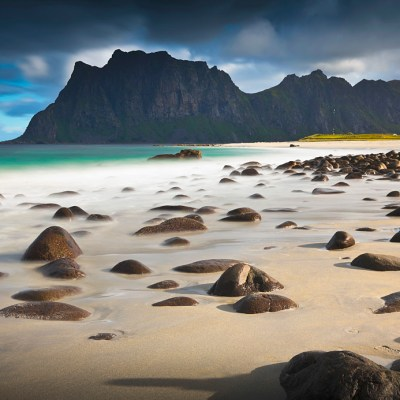 Stunning Haukland Beach and Uttakleiv Beach in Lofoten