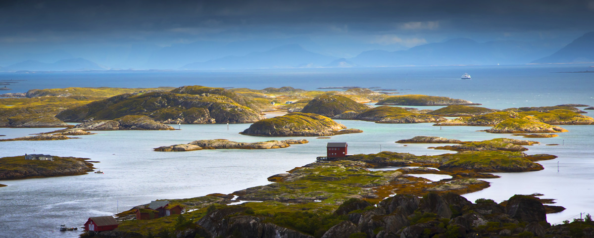 lovund island helgeland ferry
