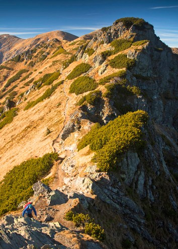 Hiking Czerwone Wierchy - iconic ridge walk in Western Tatra, Poland