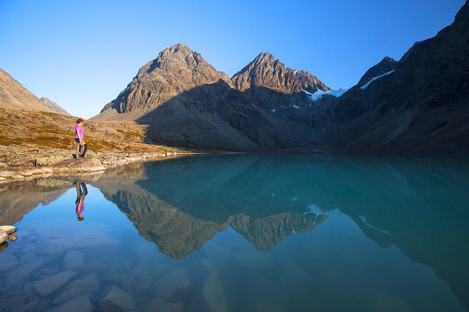 Blavatnet Lyngen Alps