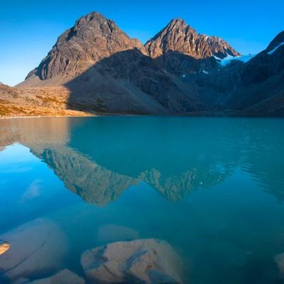 Hike to Lake Blavatnet – a gem of Lyngen Alps in Norway