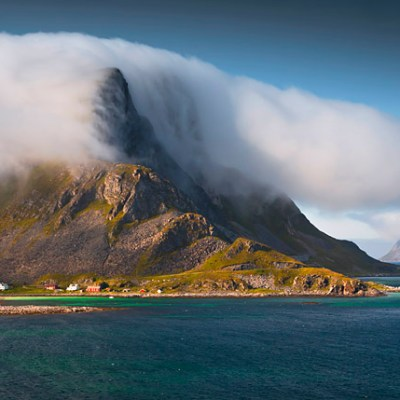 Day trip to Værøy – an island in the clouds, in Lofoten