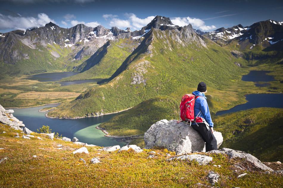 Hiking Matmora Lofoten